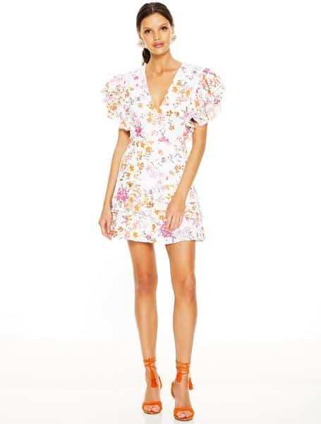 Jasmine Vines Mini Dress