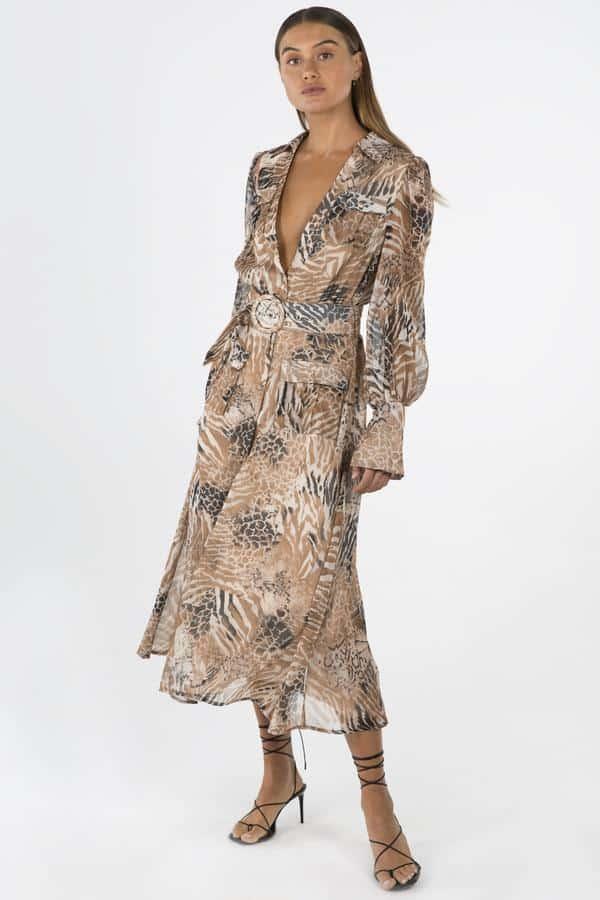 Nikkia Midi Dress