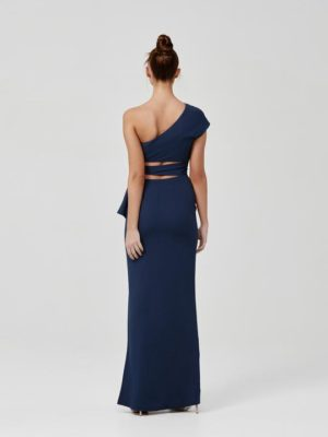 Arianna Dress Blue Back