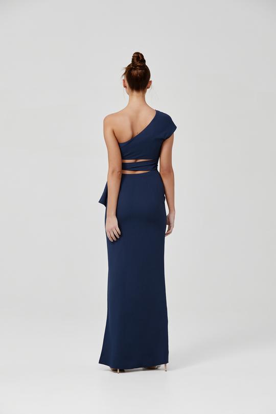 Arianna Dress Blue Back
