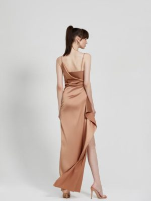 Tameka Dress Bronze Back