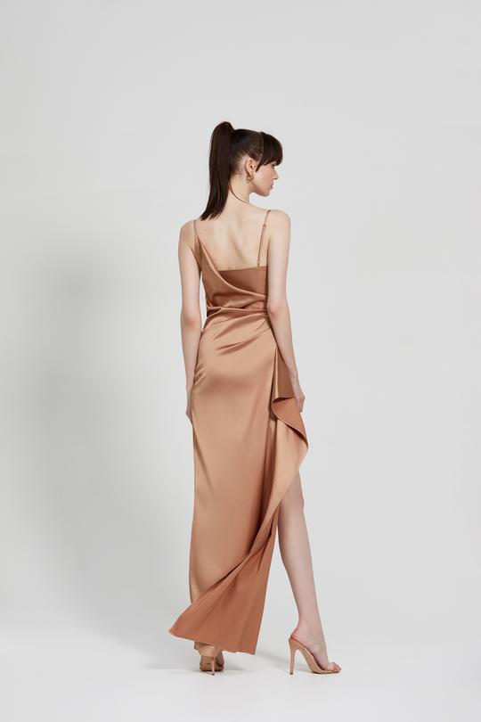 Tameka Dress Bronze Back