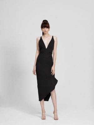 Zina Dress Black
