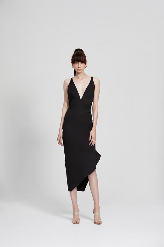 Zina Dress Black